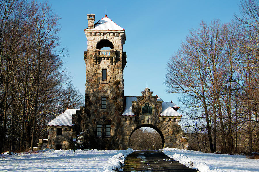 Tower Photograph - Testimonial Gateway In December by Jeff Severson