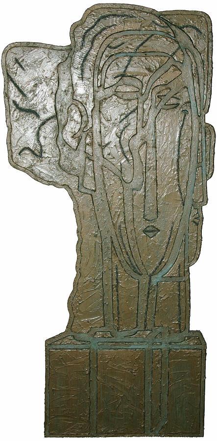 Sculpture Sculpture - Tete A Tete by Guadalupe Herrera