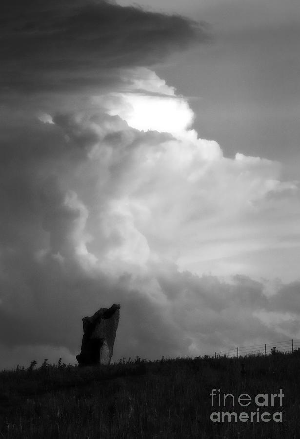 Kansas Photograph - Teterville Thunderstorm by Fred Lassmann