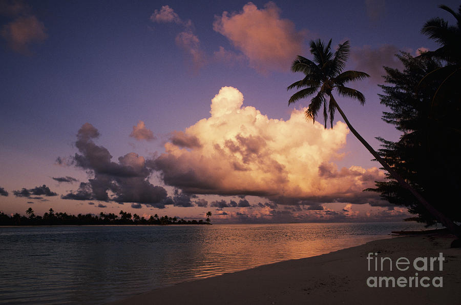 Beach Photograph - Tetiaroa by Larry Dale Gordon - Printscapes