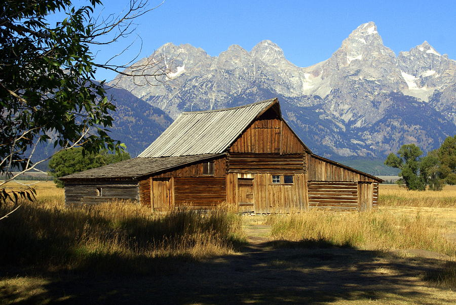 Grand Teton National Park Photograph - Teton Barn 4 by Marty Koch