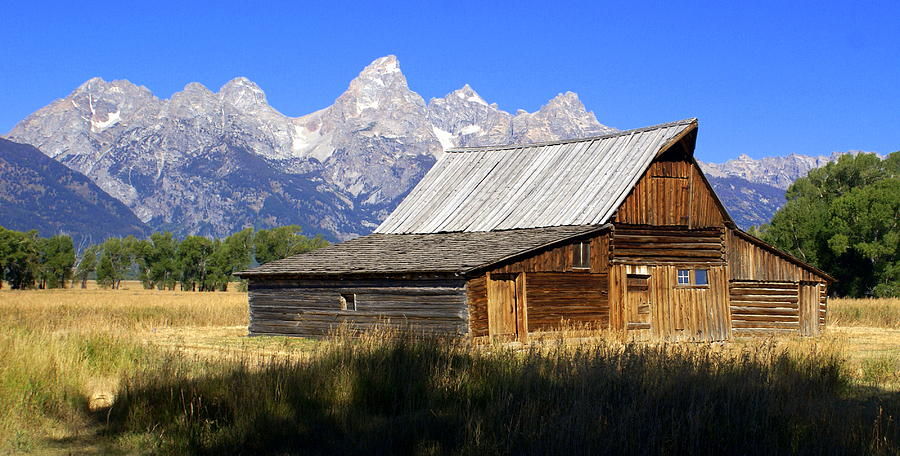 Grand Teton National Park Photograph - Teton Barn 5 by Marty Koch
