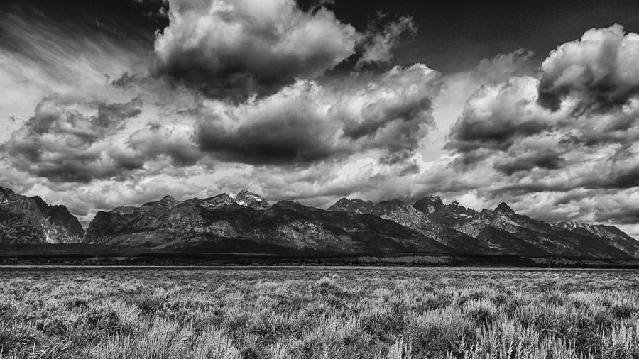 Teton Cloud Power Photograph by Ann Keisling