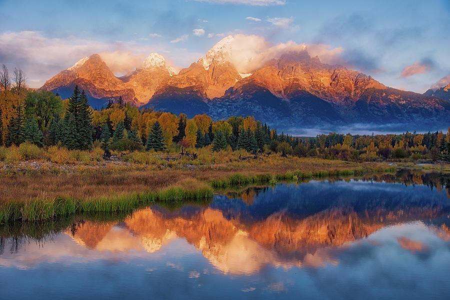 Teton Morning Photograph