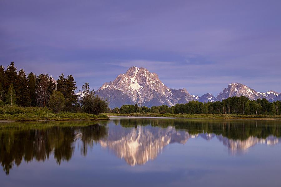 Teton Photograph - Teton Reflections by Andrew Soundarajan