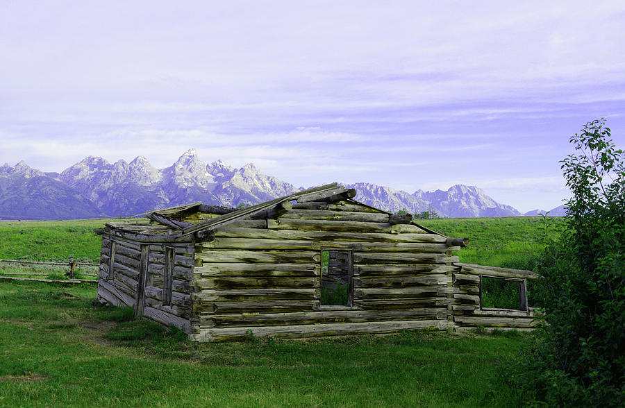 Tetons From the Shane Barn by Craig Ratcliffe