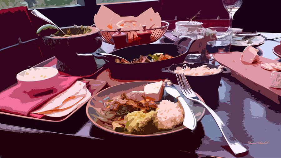 Meal Photograph - Tex-mex Good Eats by Doreen Whitelock
