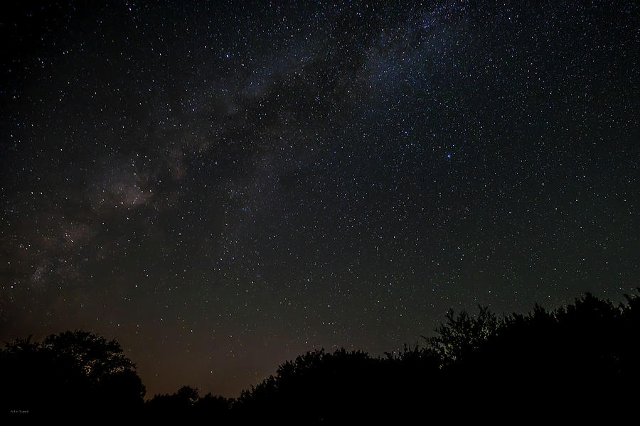 Sky Photograph - Texas at Night by Ross Henton