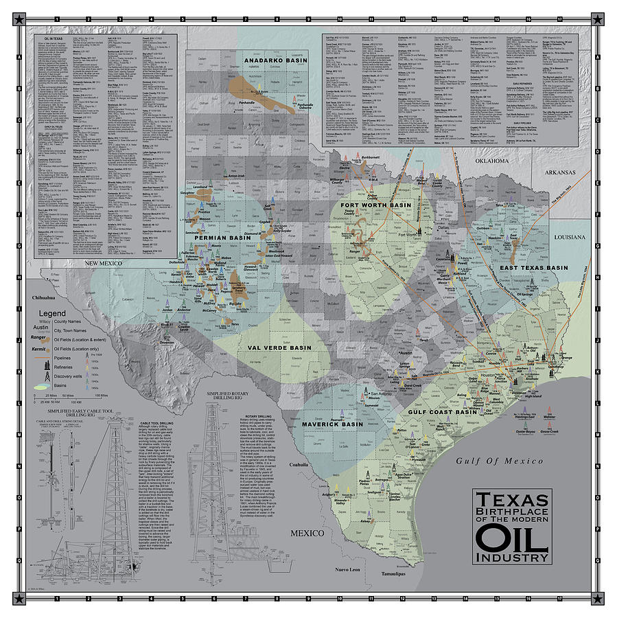 Texas - Birthplace of the Modern Oil Industry by Al White