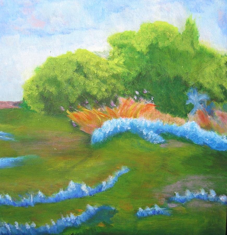 Texas Bluebonnets by Marilyn Rodriguez