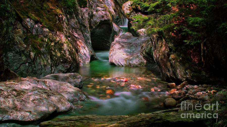 Texas Falls by Scenic Vermont Photography