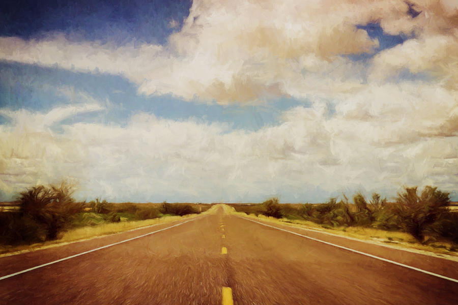 Texas Highway Photograph