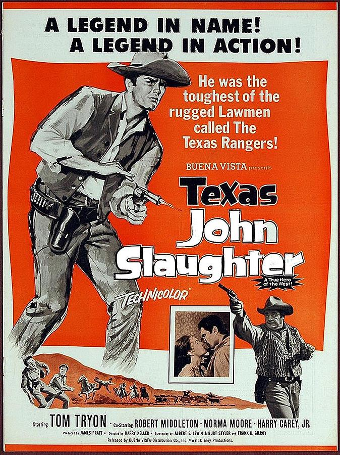 Texas John Slaughter  Pressbook For Feature Compiled From Tv Show 1958-1961 Episodes Photograph by David Lee Guss