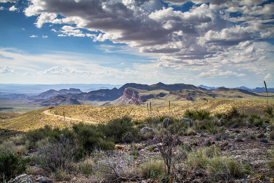 Big Bend National Park Photograph - Texas Landscapes #3 by Robert J Caputo