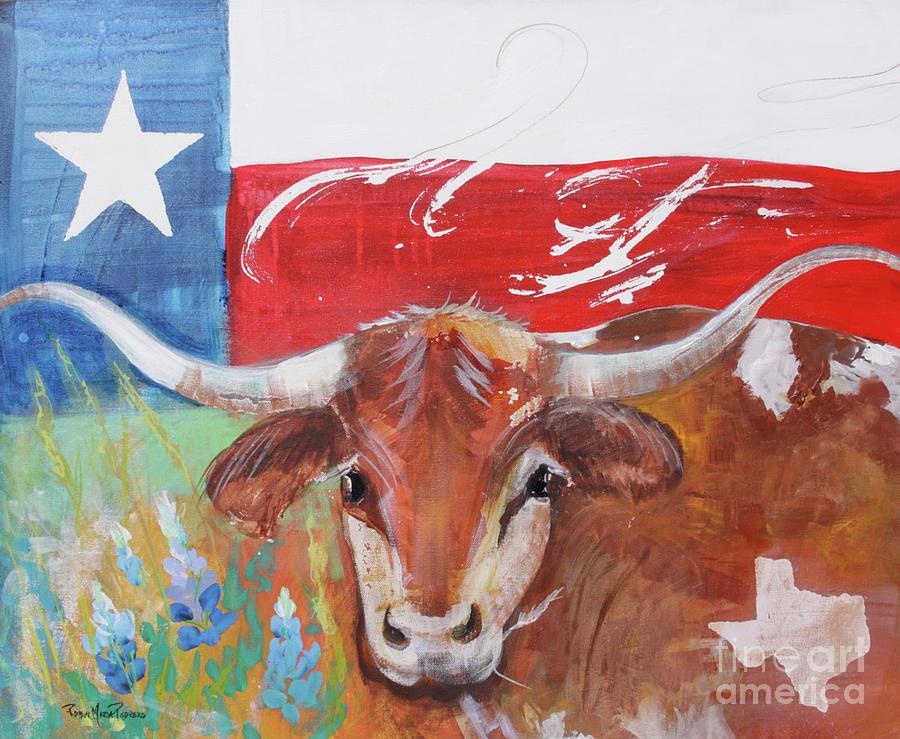 Texas Longhorn by Robin Maria Pedrero