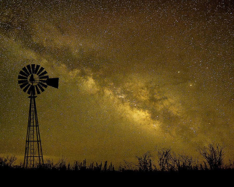 Texas Panhandle Milky Way by Scott Cordell