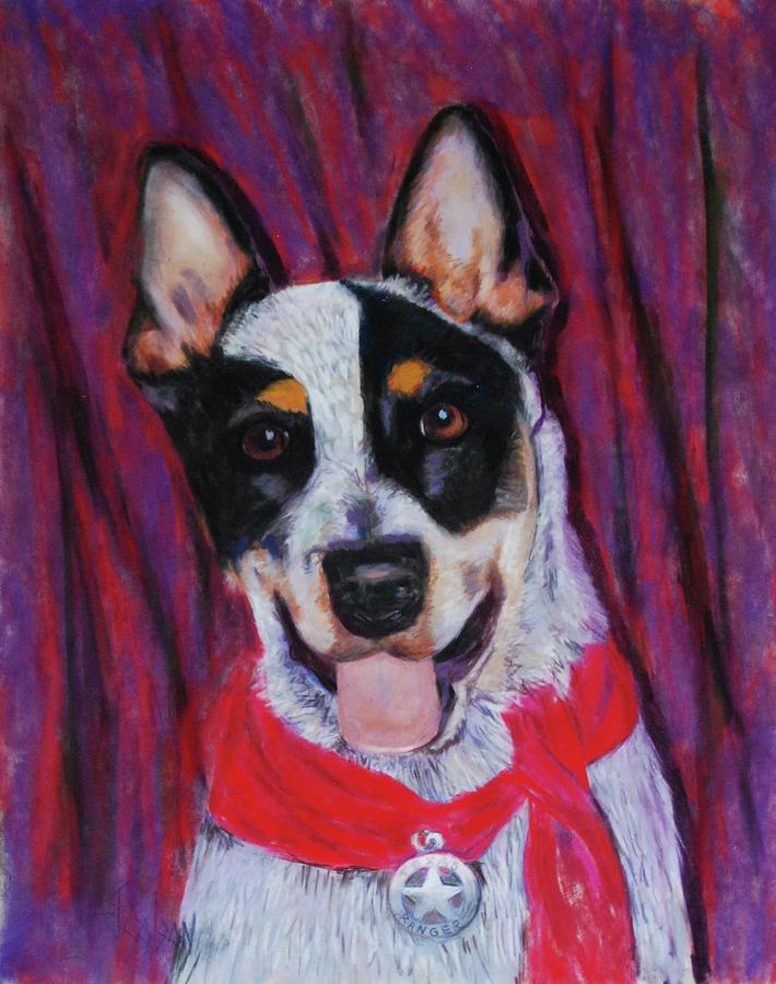 Dingo Painting - Texas Ranger by Billie Colson