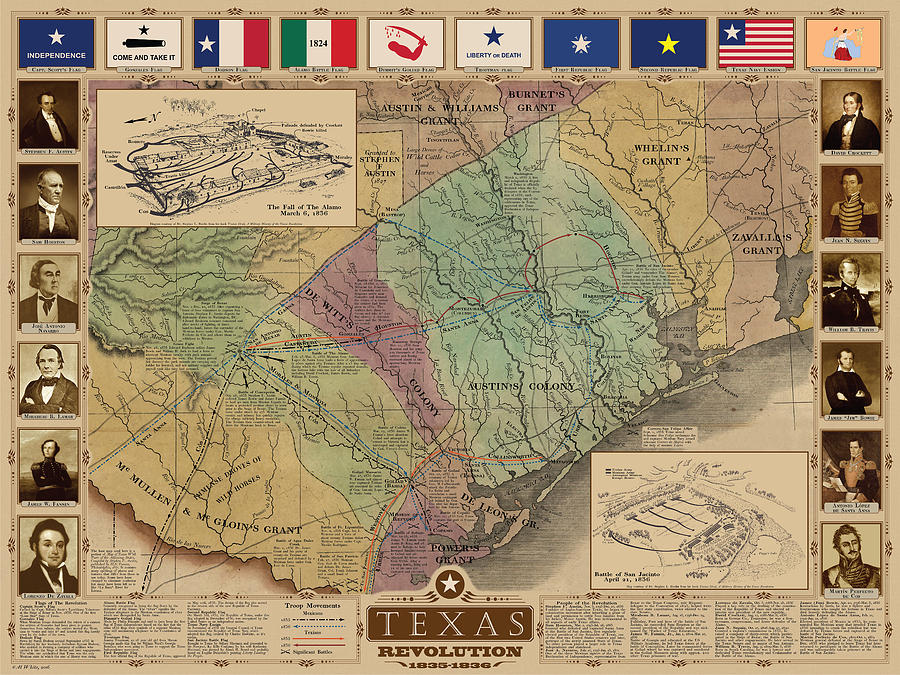 Texas Revolution by Al White