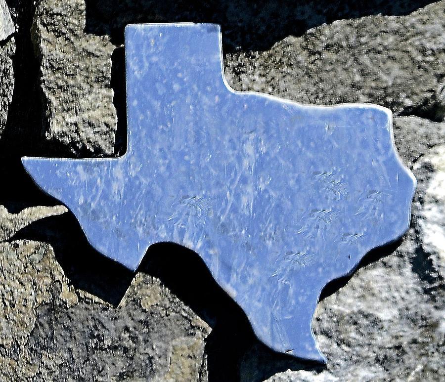 Texas Photograph - Texas Rocks by Nadalyn Larsen