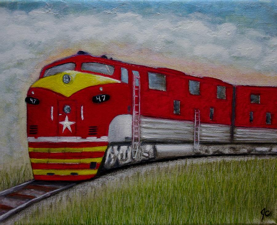 Texas Special Painting by Jimmy Carender