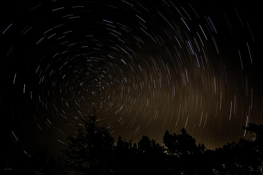 Astronomy Photograph - Texas Star Trails by Ross Henton
