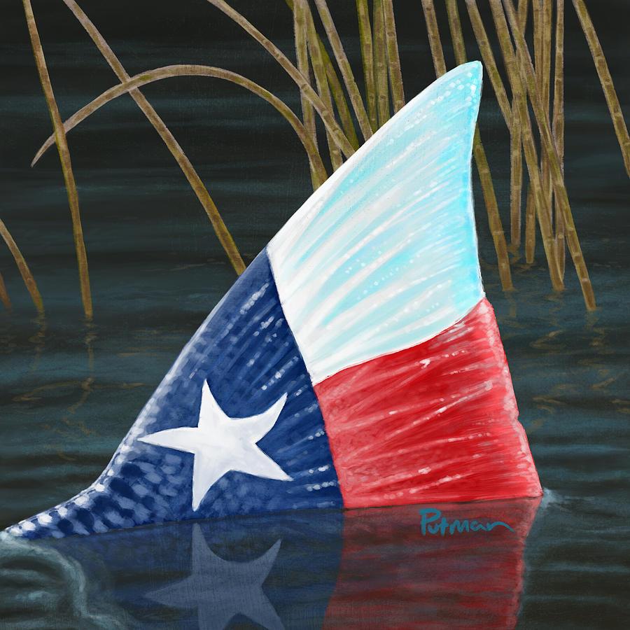 Texas Digital Art - Texas Tails by Kevin Putman