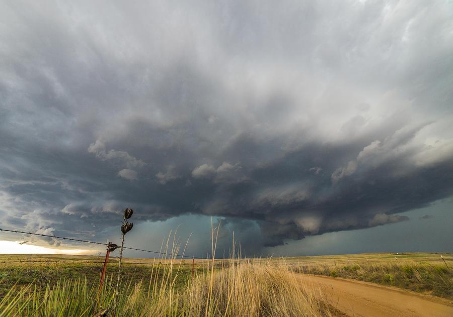 Storm Photograph - Texas Tempest by Brandon Sullivan