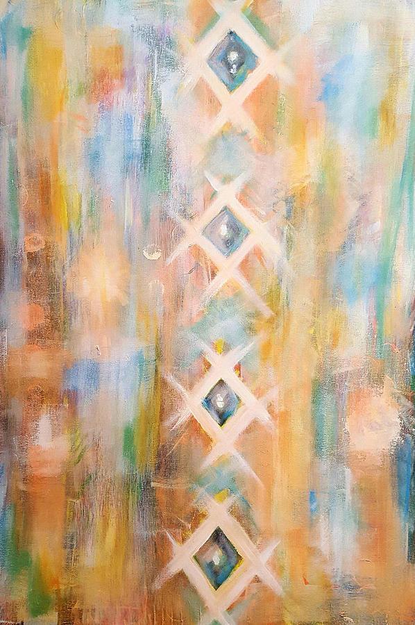 Textile Painting - Textile  by Pia Tohveri