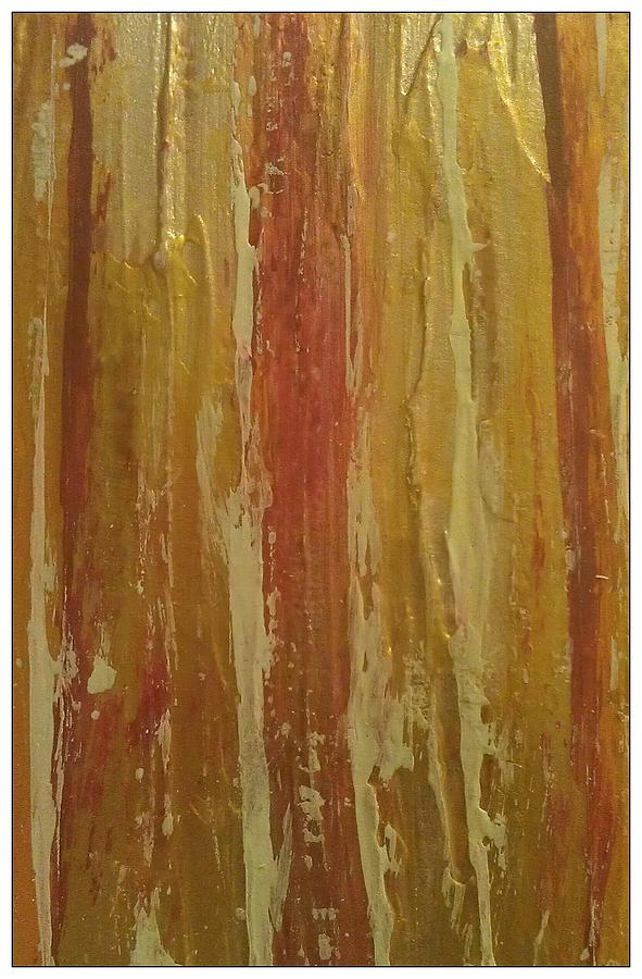 Cinnamon Painting - Textured Cinnamon by Sonya Wilson