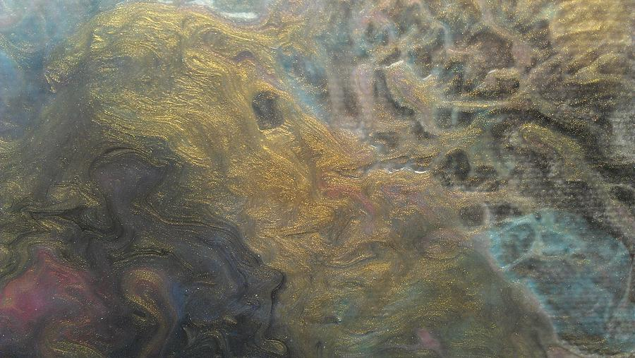 Textured Painting - Textured Pour by Sonya Wilson