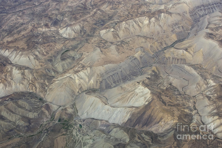 River Photograph - Textured Valleys by Tim Grams