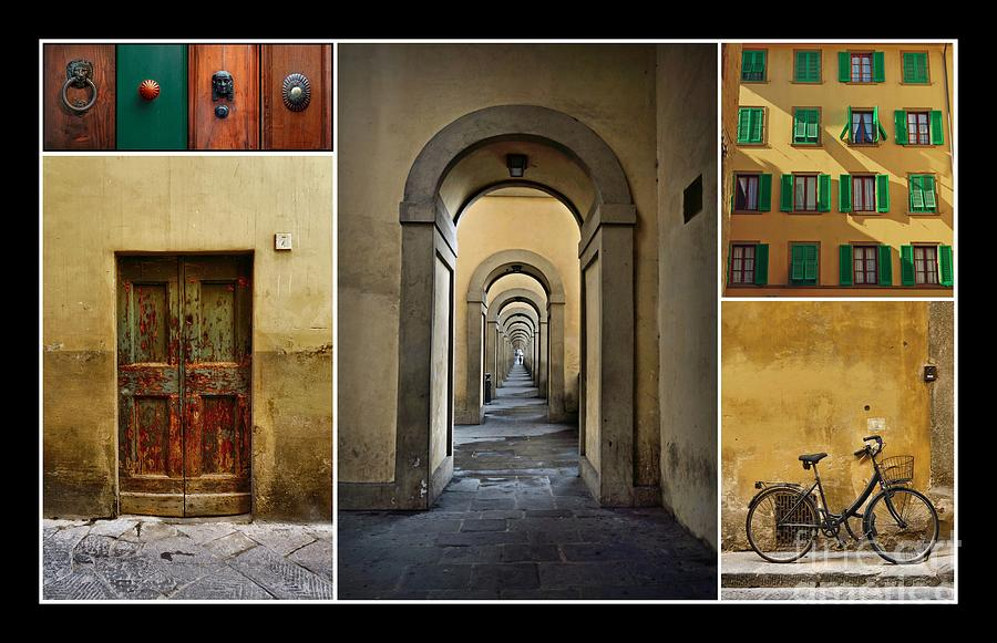 Florence Photograph - Textures Of Florence by Patricia Strand