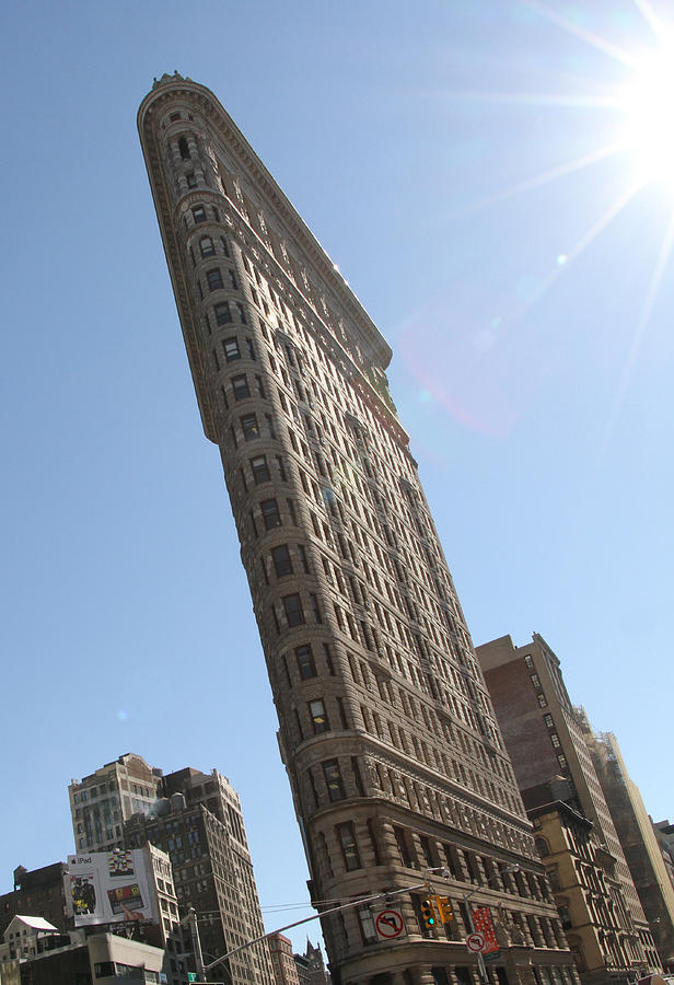 Th Flatiron Building by Michael Cobb