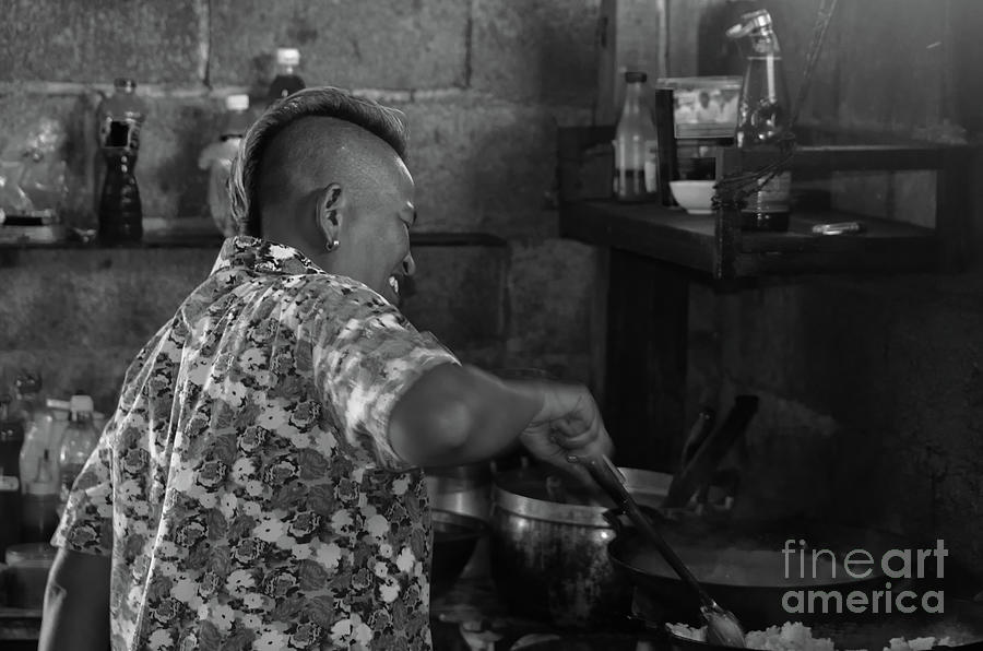 Asia Photograph - Thai Cook by Michelle Meenawong