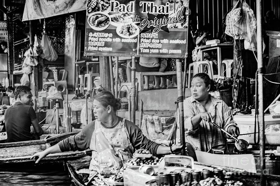 Thailands Floating Market Photograph