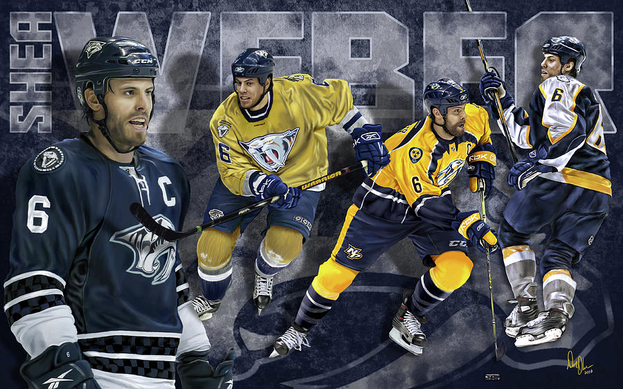 Shea Weber Digital Art - Thanks For The Memories by Don Olea