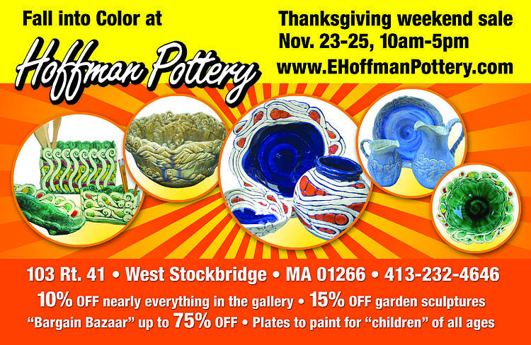 Pottery Ceramic Art - Thanksgiving Weekend Bazzaar by Elaine Hoffman