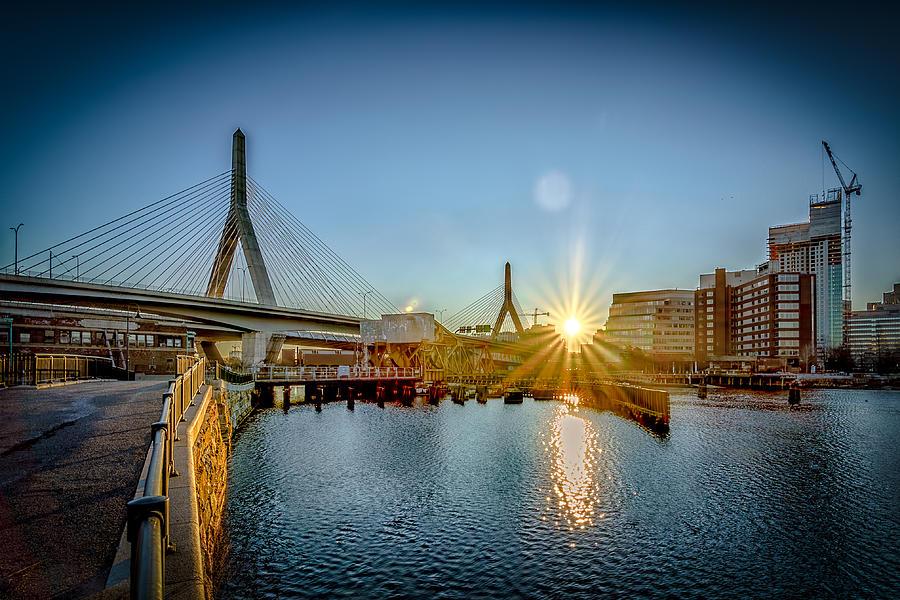 Boston Photograph - That Dirty Water by Bob Bernier