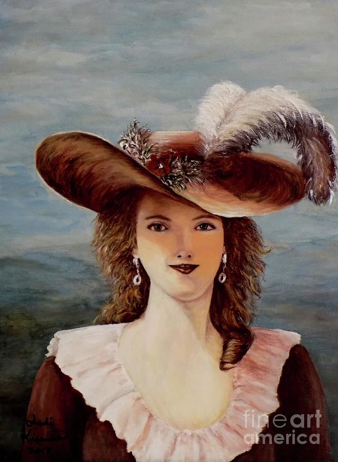 That Feather in Her Hat by Judy Kirouac
