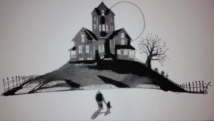 House Mixed Media - That House by Ronald Mcduff