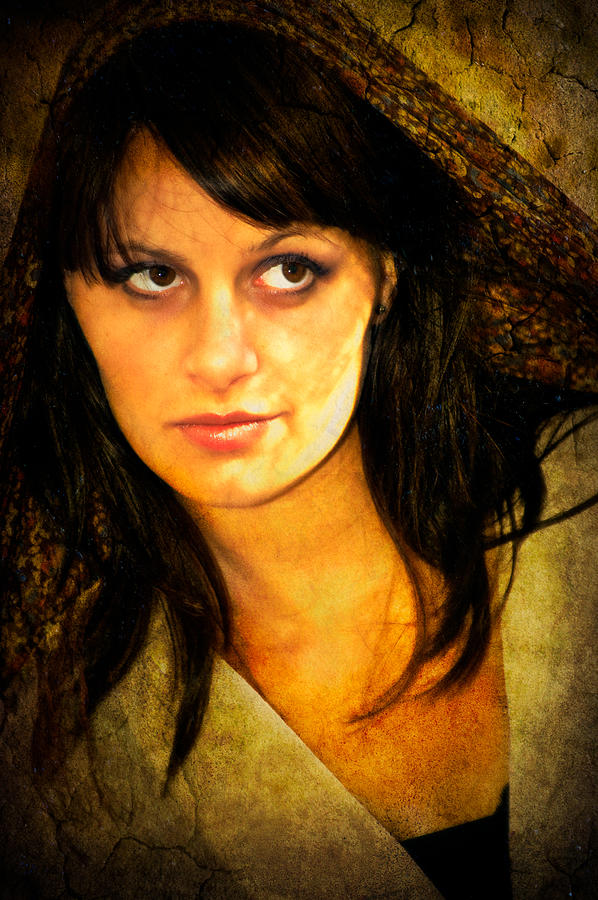 Woman Photograph - That Look by Rich Leighton