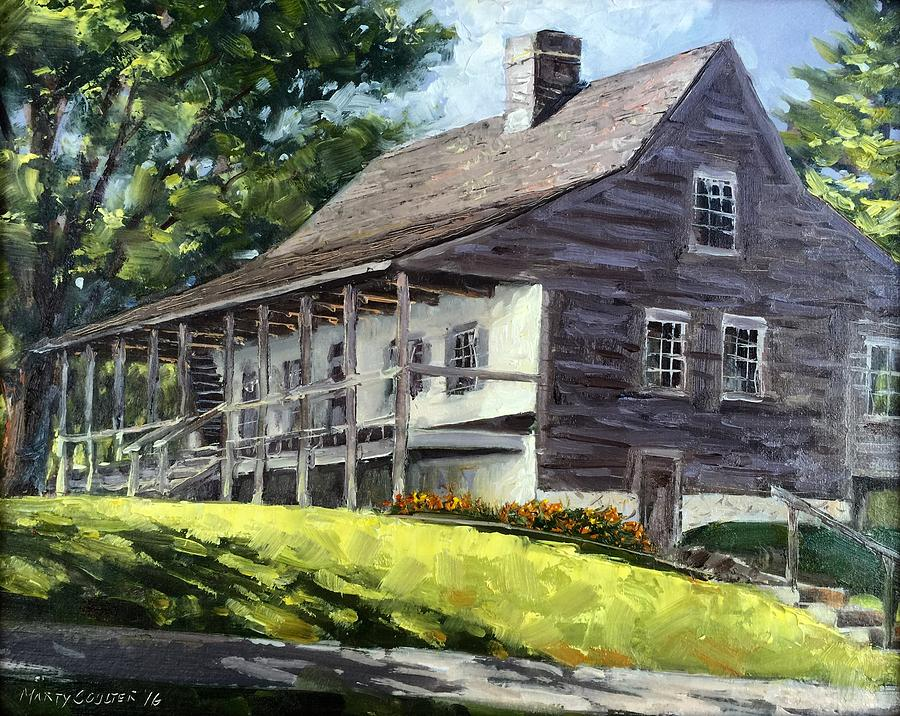 Landscape Painting - That Old House by Marty Coulter