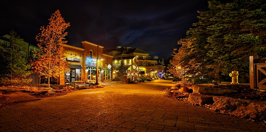 Resort Photograph - That old village feel by Jeff S PhotoArt