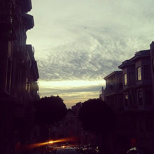 Sanfrancisco Photograph - Light and Dusk by Felicia Zurich-Gallagher