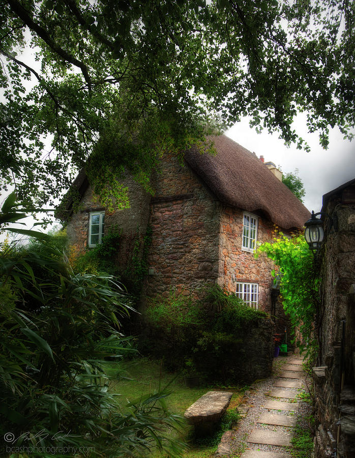 Thatched cottage 05 by Beverly Cash