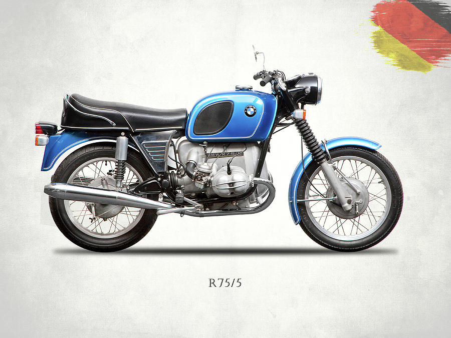 Bmw Photograph - The 1972 R75 by Mark Rogan