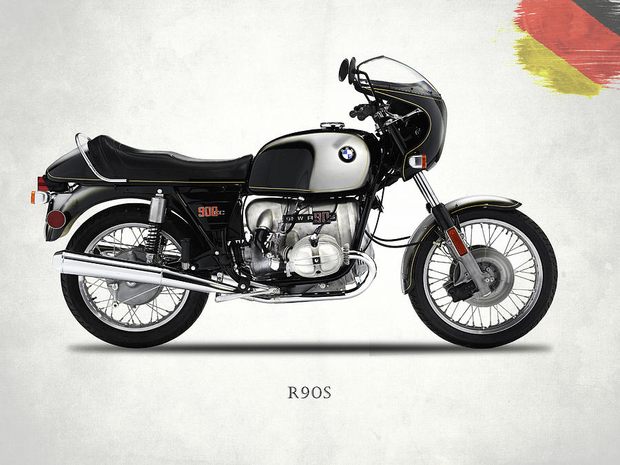 Bmw Photograph - The 1974 R90s by Mark Rogan
