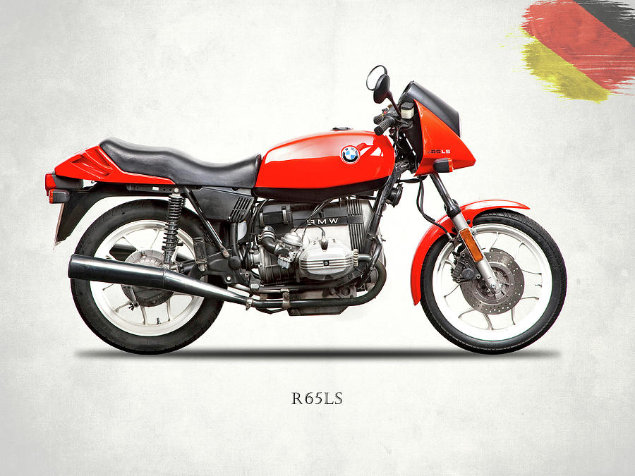 Bmw Photograph - The 1982 R65ls by Mark Rogan