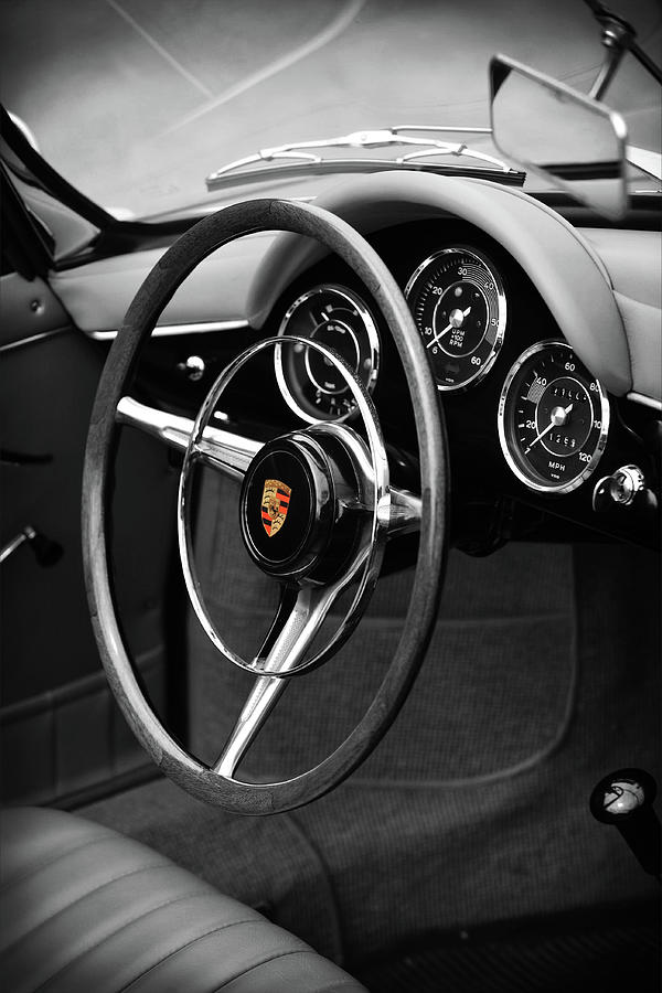 Porsche 356 Photograph - The 356 Roadster by Mark Rogan