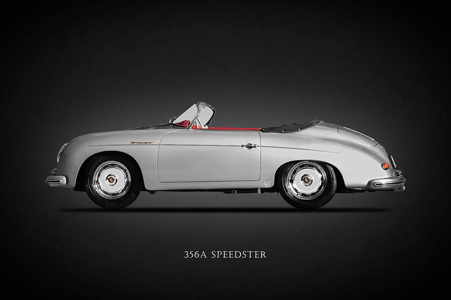 Porsche 356 Photograph - The 356A Speedster by Mark Rogan